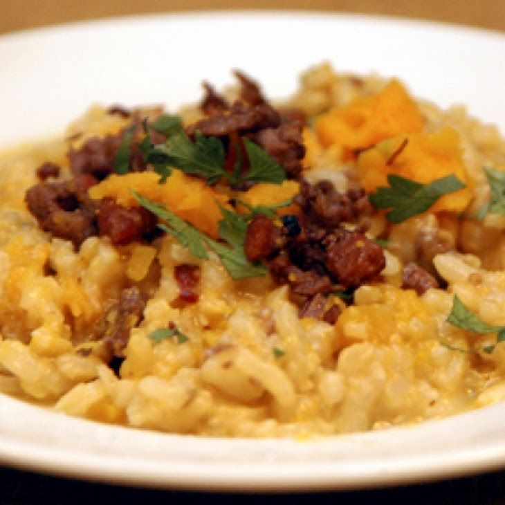 Risotto with Butternut Squash and Leeks   Get In My Belly ...