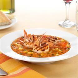 shrimp grilled gazpacho salad grilled grilled gazpacho salad grilled ...