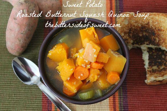 Roasted Butternut Squash And Sweet Potato Soup Recipe — Dishmaps