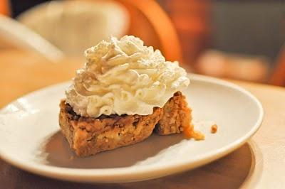 The great Pumpkin Dessert. This one is really good!!!