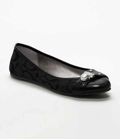 in love with Coach flats!Available at Dillards.com #Dillards