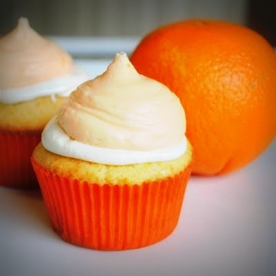 orange creamsicle cupcakes: Really really good but very potent. I ...