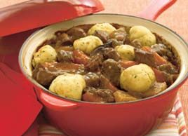 Beef in Ale with Horseradish Dumplings | Food | Pinterest