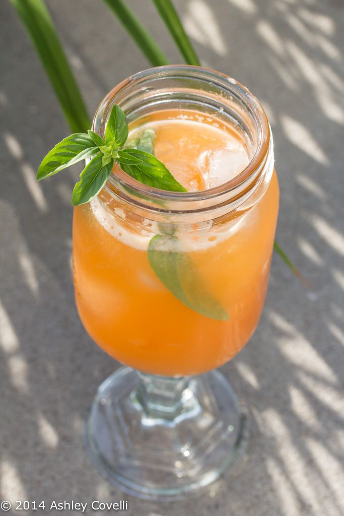 Cantaloupe-Basil Agua Fresca | Big Flavors From A Tiny Kitchen | Pint ...