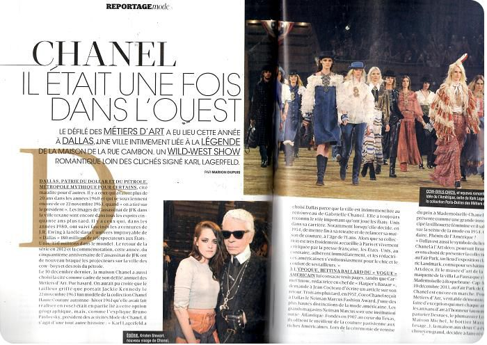 Madame Figaro Chanel