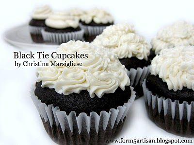 ... Sweet: Black Tie Cupcakes | My Love of Cupcakes | Pint