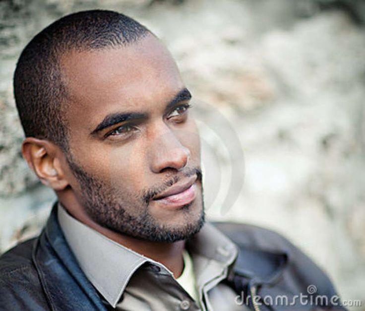 Handsome Black Men Portrait Of Handsome Black Man