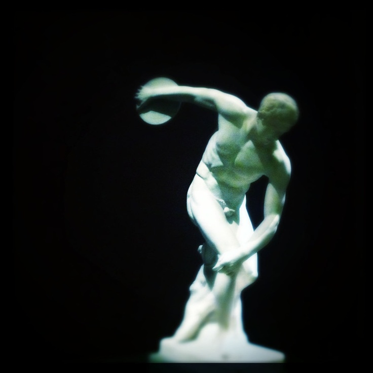 Discobolus (Discus Thrower) | Art, Illustration & Photography | Pinte ...