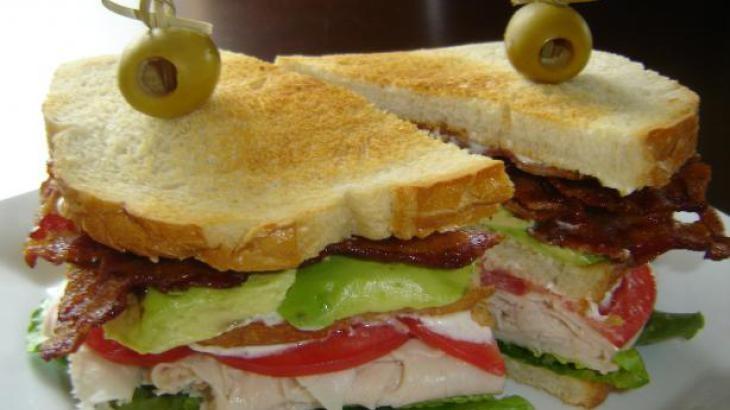Cobb Club Sandwiches | Soup/Salad/Sannies | Pinterest