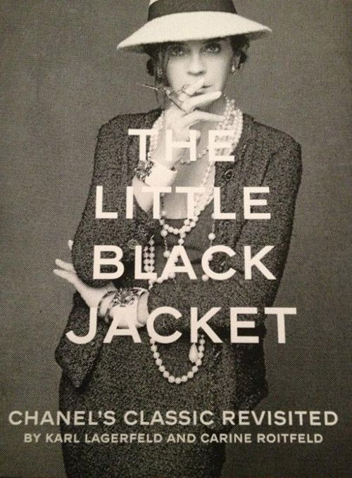 Click this link to read all about coffee table book 'The Little Black Jacket: Chanel's Classic Revisited':   www.explosivefashion.in/blog_post_detail.php?id=826