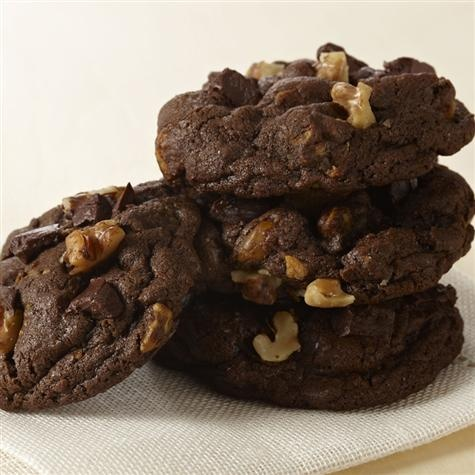 Double Chocolate Chunk Cookies | YUMMY Dessert Recipes | Pinterest