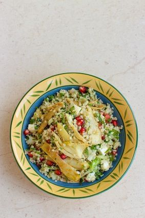 Fennel Quinoa Pomegranate salad | Food to Make | Pinterest