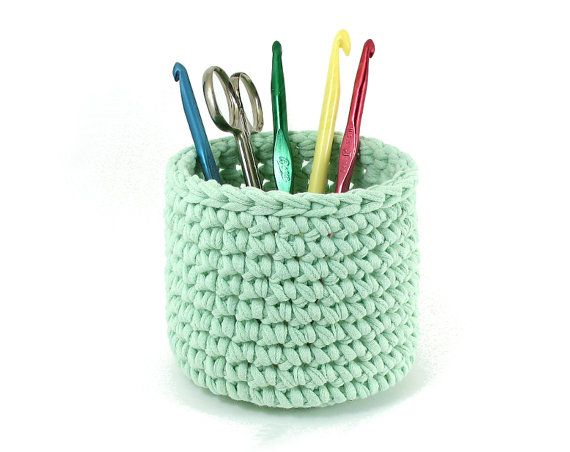 Crochet Bowl Pattern for T Shirt Yarn or other by MikesTShirtYarn, $3 ...