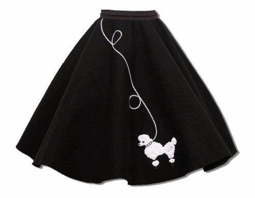 Hip Hop 50s Shop Adult Poodle Skirt   Women's Fashion   Pinterest
