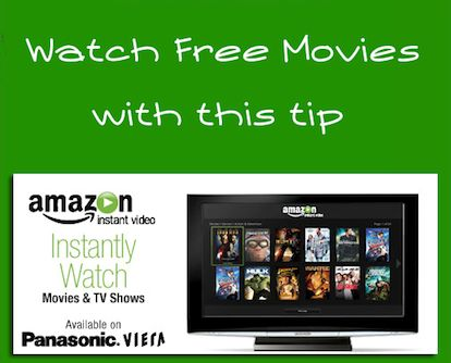 how to watch amazon movies on tv