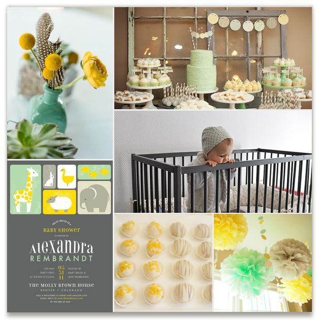 mint yellow baby shower by 2birdstone see more unique minted baby