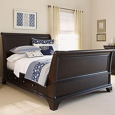 bedroom set brentwood platform bed or sleigh bed pretty love
