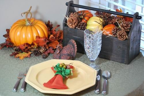Decorating thanksgiving table on a budget photograph decor