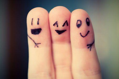 happy fingers :)