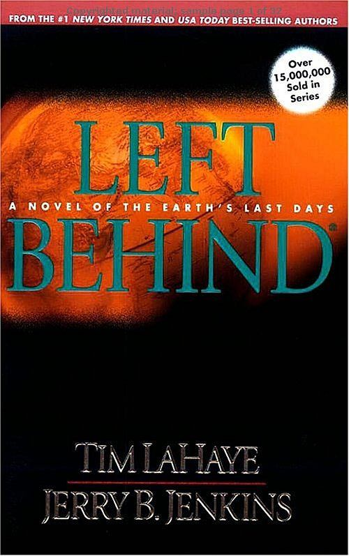Left Behind - This is an amazing christian book series. I read the ...