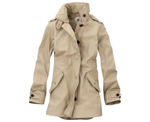 Women's Fringe Textured Jacket from Lands' End. Women's Rain Jackets
