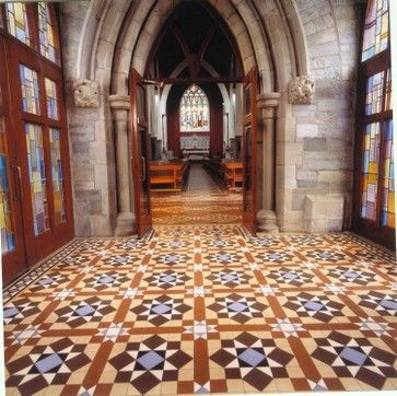 Spanish style tile floor homes pinterest for Spanish style floor tiles