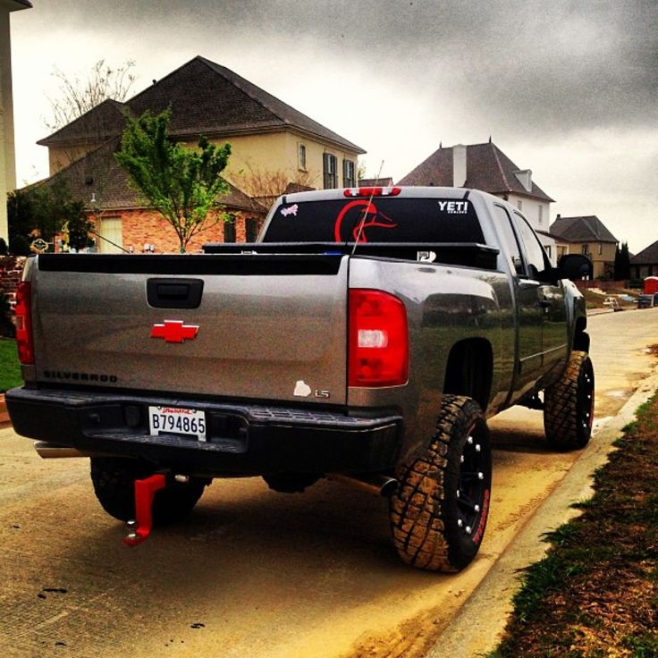 Lifted Tahoes >> badass truck chevy silverado | Wheels | Pinterest