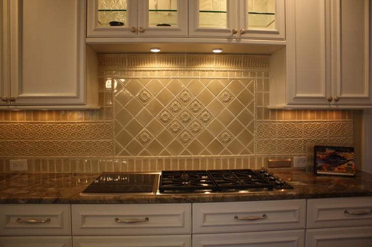 custom porcelain tile backsplash home improvement pinterest