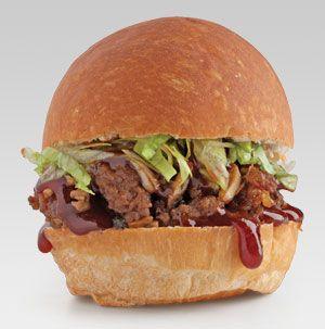 To make Mongolian Sloppy Joe Sliders easier to eat, wrap each one in a ...
