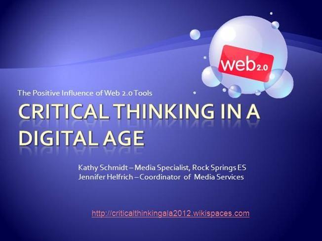 critical thinking ppt presentation