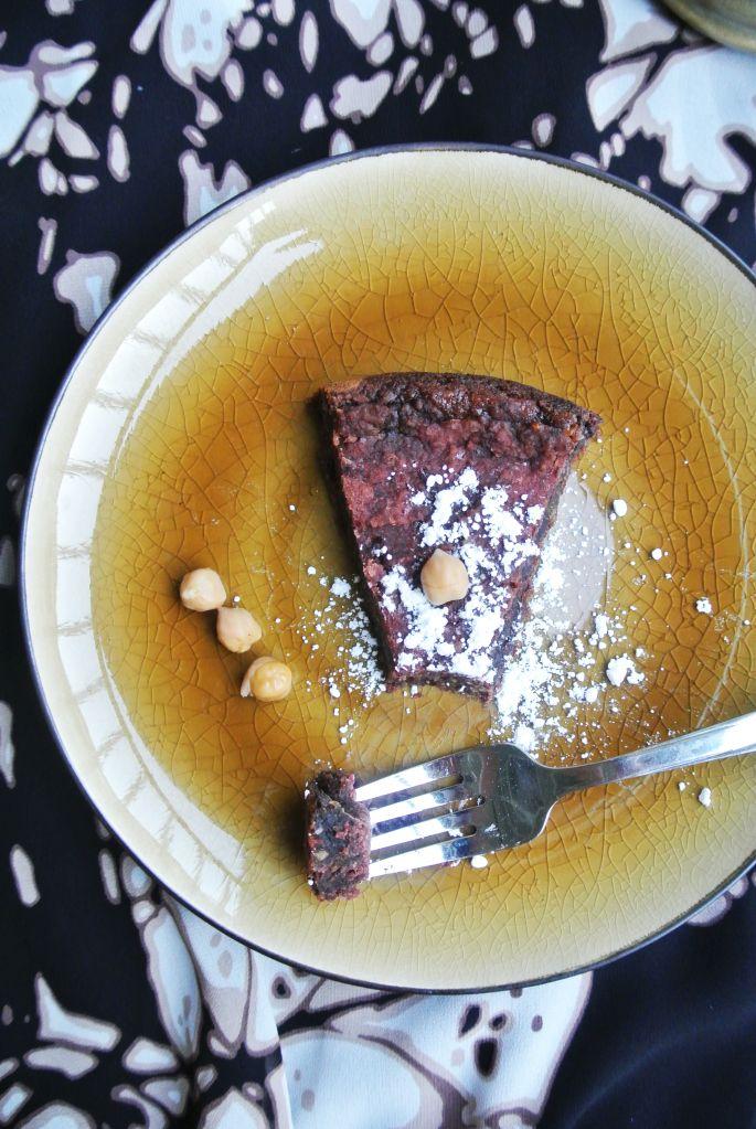 Chocolate Chickpea Cake | Bake Me / Light | Pinterest