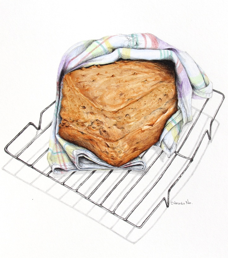 Irish Brown Soda Bread | The Art of Alexandra Nea | Pinterest