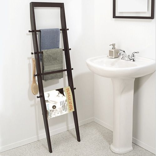 Excellent Ladder Bathroom Storage By KnotsandBiscuits On Etsy