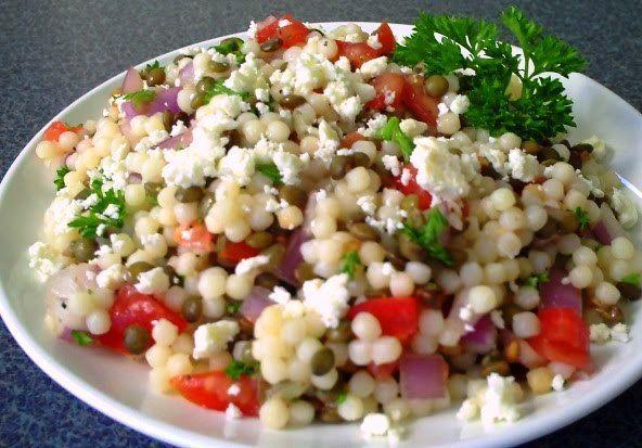 salad mediterranean grain salad mediterranean garbanzo salad ...