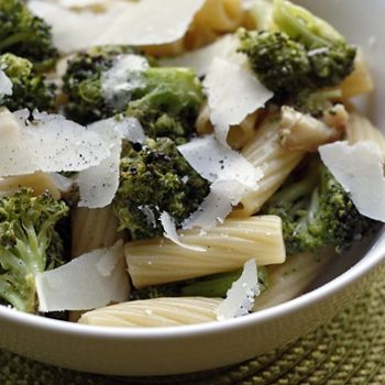 Pasta With Roasted Broccoli With Garlic And Oil from Skinnytaste