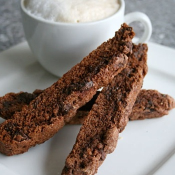 Double Chocolate Biscotti | Great food recipes | Pinterest