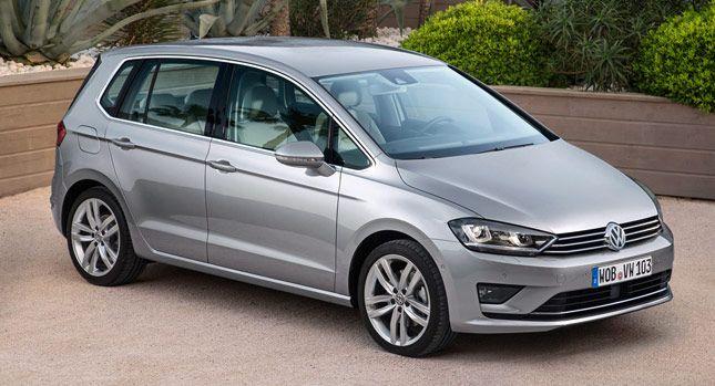 Volkswagen Golf Sportsvan to w założeniu producenta auto rodzinne (źródło grafiki: Pinterest)