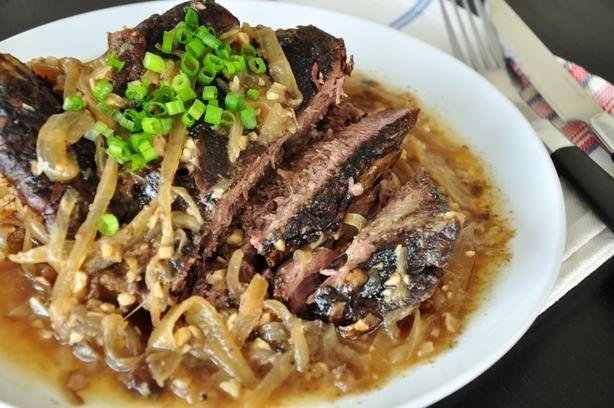 Drunken Garlic Crock Pot Roast Recipe - Food.com - 49230