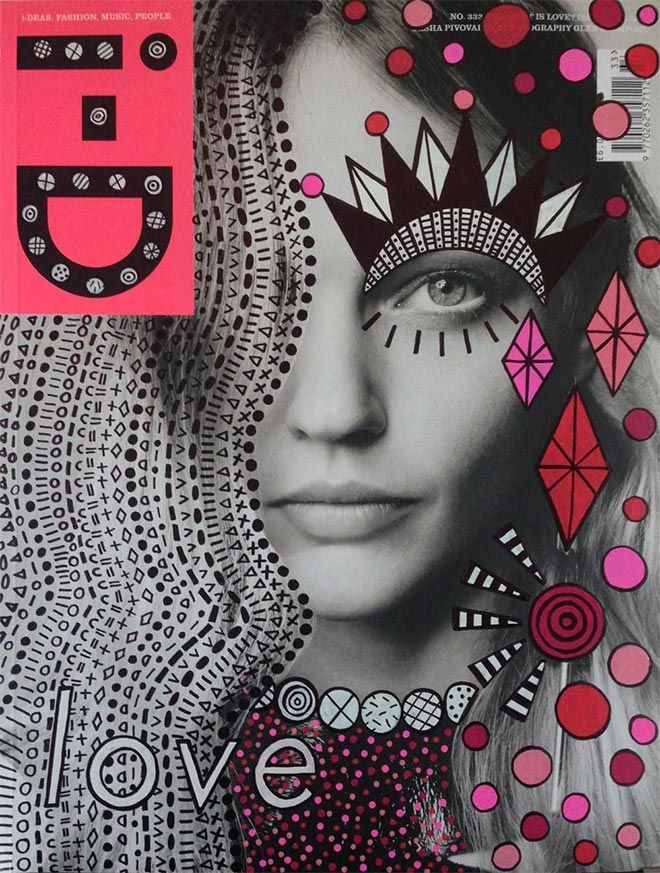 Magazine Cover Design Process Work  Communications
