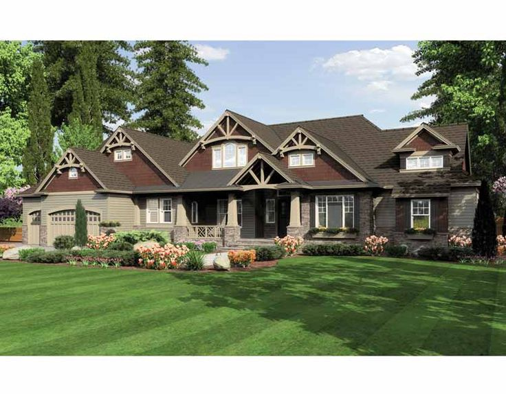 Ranch Style New Home Construction Pinterest