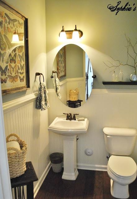 Powder Room Makeover Fair With Makeover Powder Room Bathroom Photos