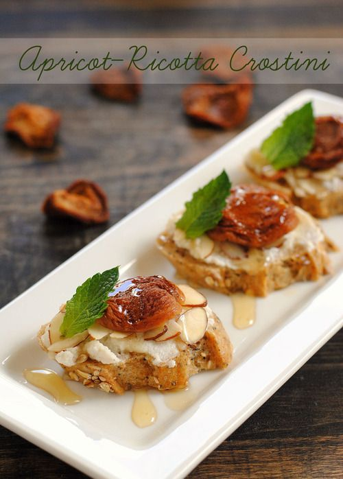 """Crostini - which is Italian for """"little toasts"""" - are an appetizer ..."""