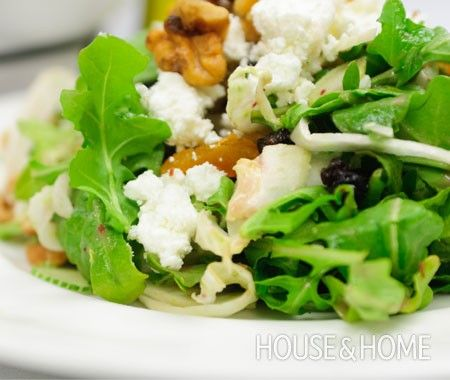 Arugula, Beet, Goat Cheese Salad Recipe | Salads | Pinterest