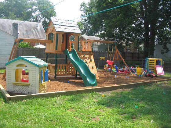 Small Backyard Playground Ideas