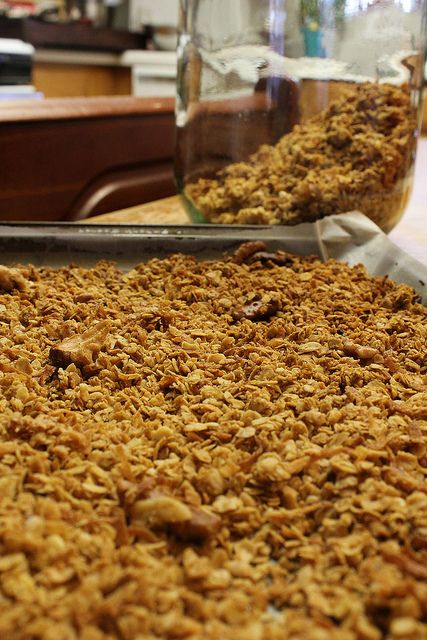 Coconut Almond Granola | Breakfast | Pinterest