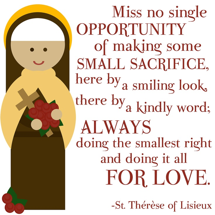 St Therese Of Lisieux Quotes. QuotesGram