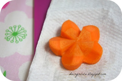 3D-Carrot Flower Tutorial | carmella | Pinterest