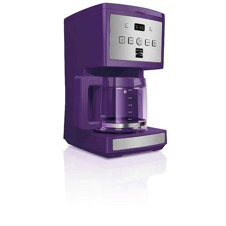 Kenmore 12 Cup Programmable Coffee Maker Purple Pinterest
