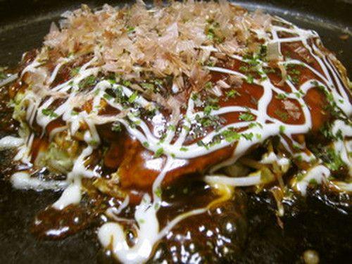 Hiroshima Style Okonomiyaki--one of the best meals in Hiroshima!!