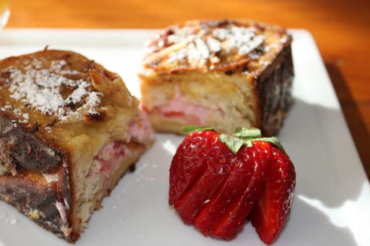 is for Strawberry! Strawberry Stuffed Challah French Toast | A-Z ...